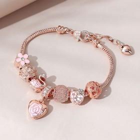 Bracelet Charms Gold LOVE