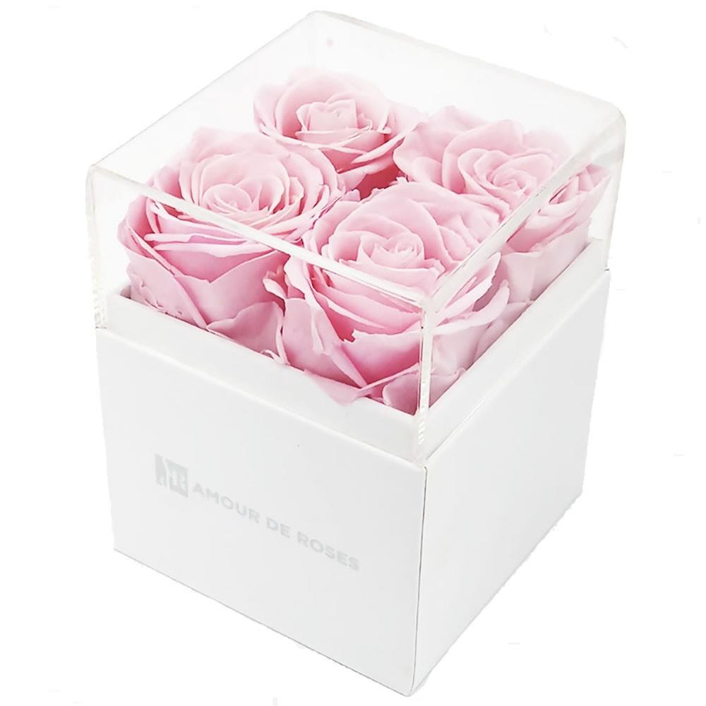 Coffret 4 Roses Roses