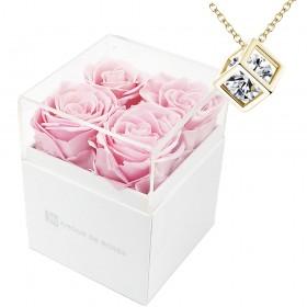 Ensemble Coffret 4 roses...