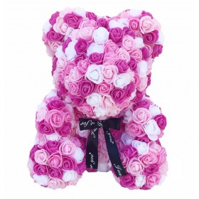 Ours en Roses - Pink Rainbow