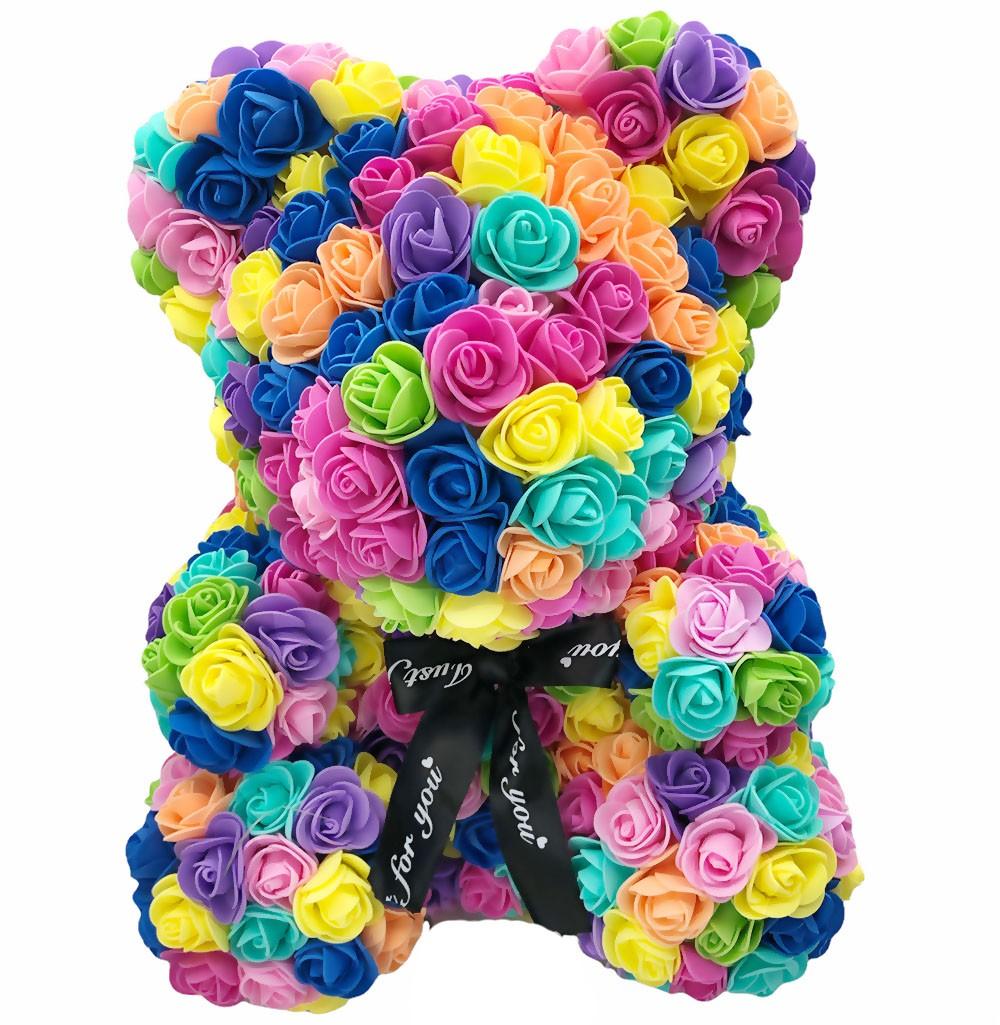 Ours en Roses - Multicolors