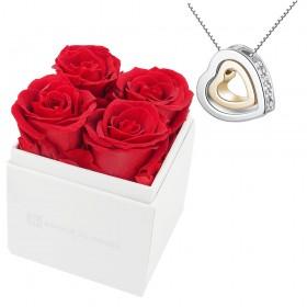 Ensemble Coff. 4 roses...