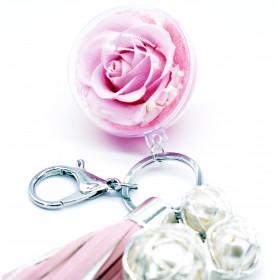 Porte Clés Rose Éternelle...