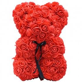 Ours en Roses - Rouge