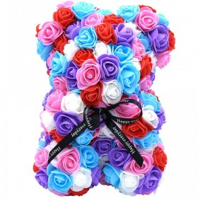 Ours en Roses - Rainbow