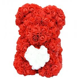 Ours en Roses - Rouge Cœur...